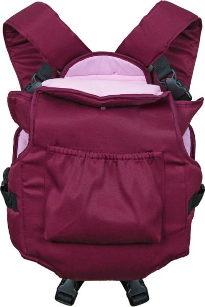 рюкзак фея хлопок бордо