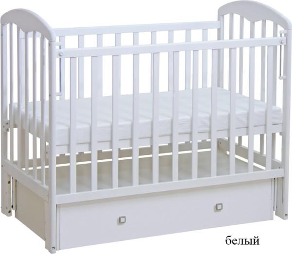 кровать 328 белый