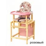 стол-стул-для-кормления-стд-07 розовый