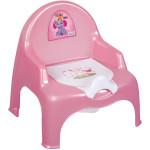 горшок стульчик 11102 розовый