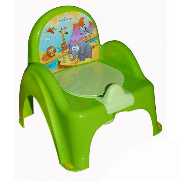 горшок стульчик сафари зел