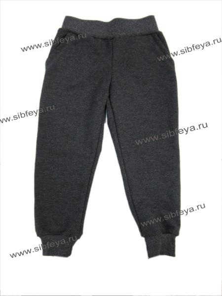 брюки с манжетами Антрацит БА т сер
