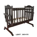 кровать-колыбель мой малыш венге_