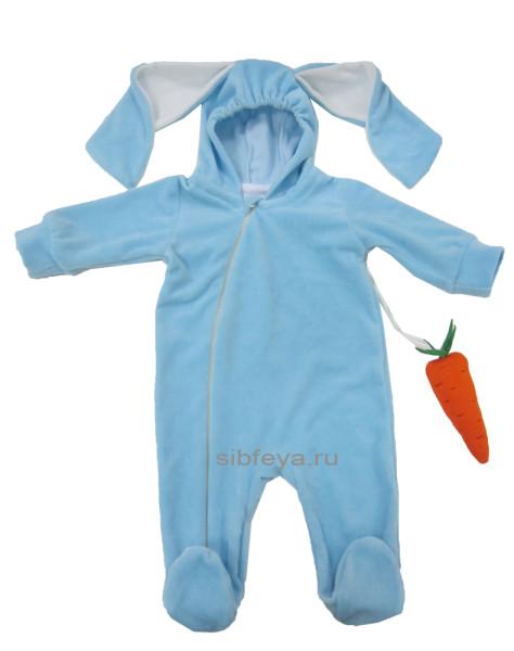 зайка с морковкой гол_