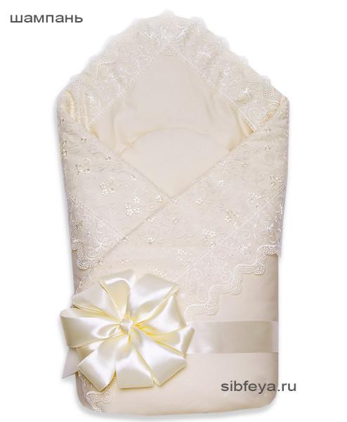 одеяло на выписку венеция шампань