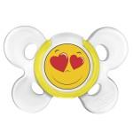 Пустышка CHICCO 0199 Physio Comfort Smile, 1шт, 0-6мес, силикон