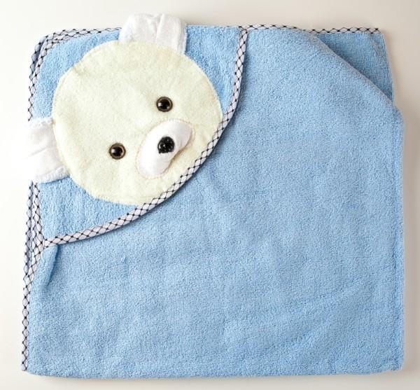 полотенце уголок махра мишка гол