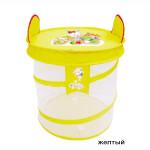 Корзина для игрушек Yongjia Желтый 41x41x46 см 889-48B