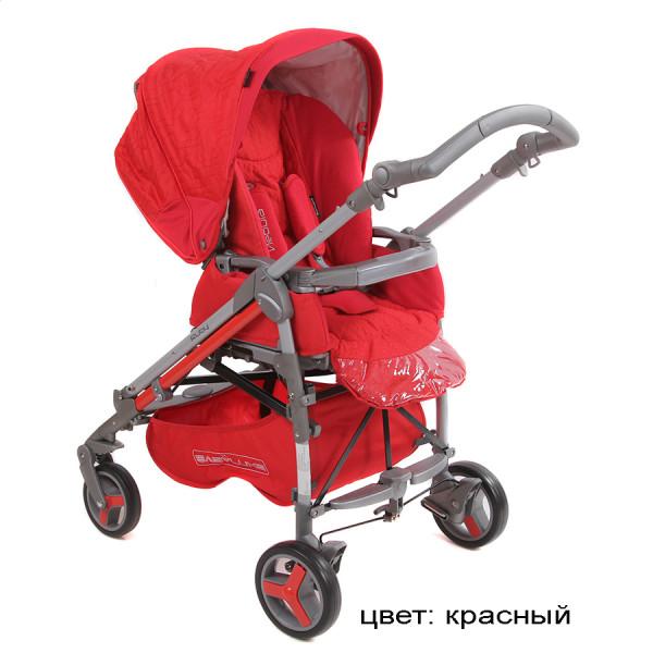 Прогулочная коляска Babylux 205 S красн