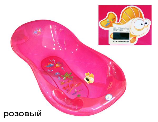 ванна aqua 86 см роз