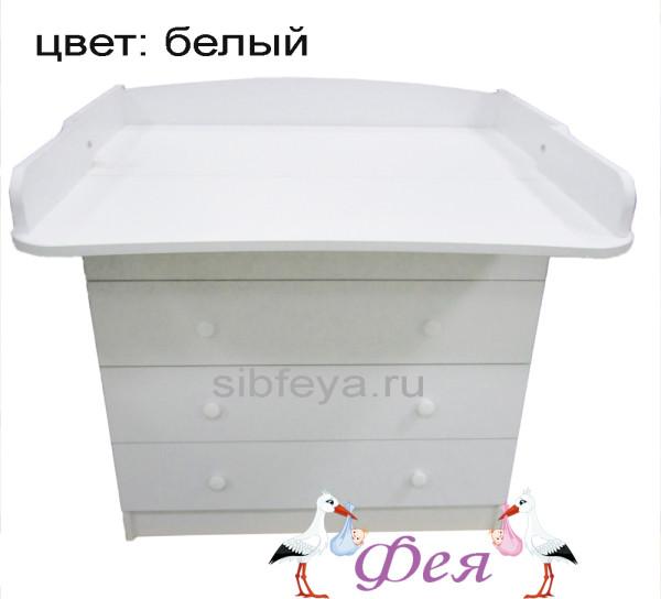 комод №1 белый