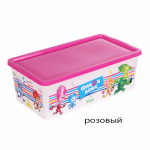 контейнер для игрушек фиксик 51122 роз