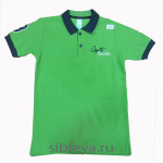 футболка поло sports зел