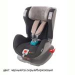 Glider Softy ISOFIX 9-25 черн св сер бирюз
