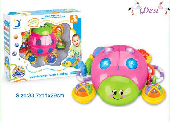 Развивающая игрушка Божья коровка 2012-6A_
