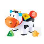 игрушка коровка с логикой