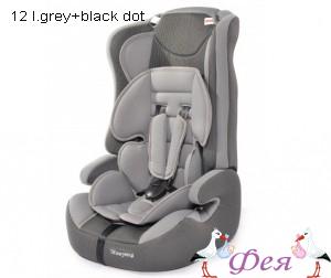 513RF 12 l.grey+black dot