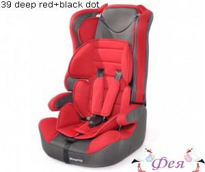 513RF 39 deep red+black dot