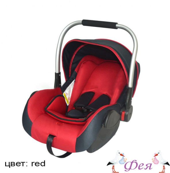 BABY CAR SEAT HB801 0-13 red