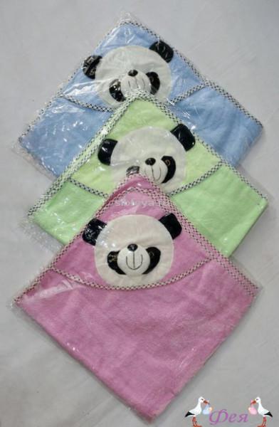 полотенце уголок панда