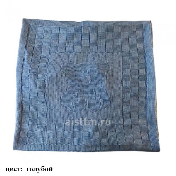 одеяло-плед мишка аист гол95_95