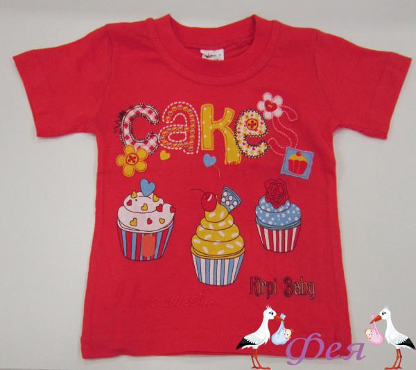 футболка 100 cake