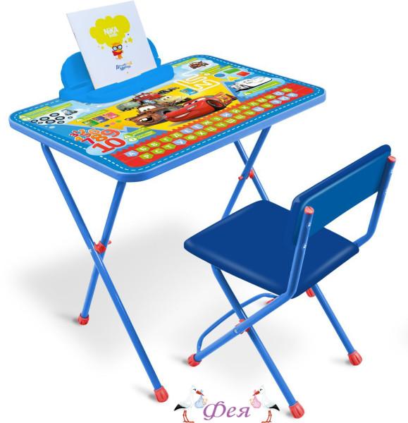 Д1П_Т Комплект Disney Тачки (стол 520+пенал+стул мягкий)