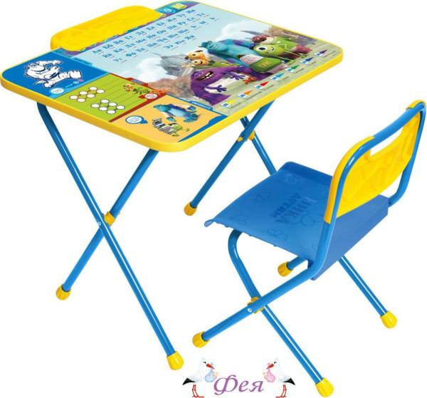 Д1У Комплект Disney 1 Университет Монстров (стол 500+пенал+стул пластиковый)