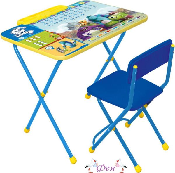 Д2У Комплект Disney 2 Университет Монстров (стол 570+пенал+стул мягкий)