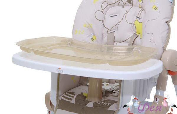Стульчик для кормления Polini Disney baby 470 Медвежонок Винни и его друзья, макиато_9