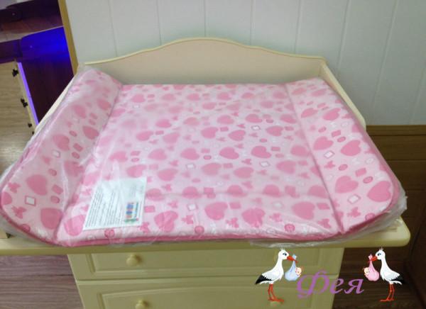 матрасик для пеленания 0533 роз