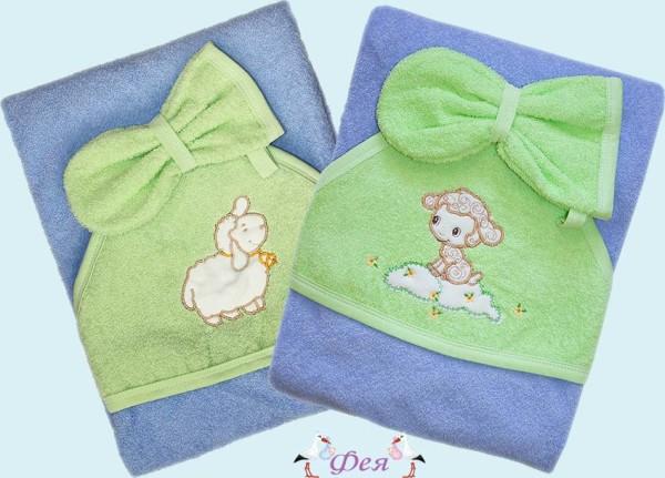 3272 веселые овечки полотенце