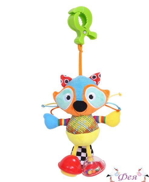 игрушка-подвеска Biba Toys Крошка-Енот BS 177