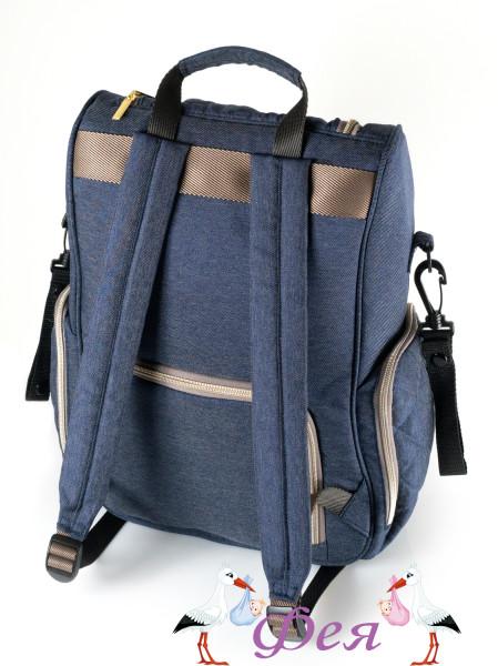 рюкзак f 3 джинсовый