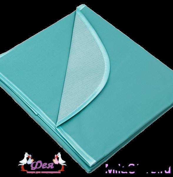 Клеенка подкладная С ПВХ покрытием с резинками держателями 1,0_0,7м цветная 0064