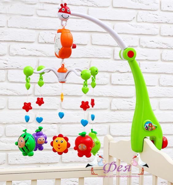 карусель веселые фрукты 3601467