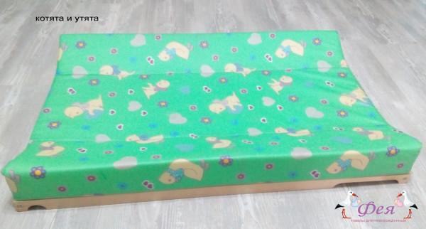доска пеленальн п-01 Гном зелен