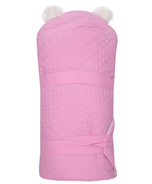 Одеяло-на-выписку-Умка-Арси-розовый-фото-2