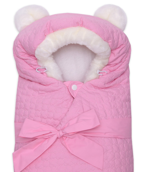 Одеяло-на-выписку-Умка-Арси-розовый-фото-4